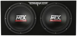 "Picture of Dual 12"" 400-Watt RMS Sealed Subwoofer Enclosure"