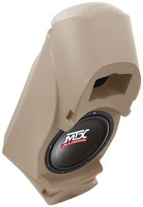 Picture of Fits 1992-2000 - Amplified 10 inch 200W RMS Vehicle Specific Custom Subwoofer Enclosure