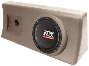 Picture of Fits Chevrolet S-10 Regular Cab 1995-2003 S1010AT-TN Amplified 10 inch 200W RMS Vehicile Specific Custom Subwoofer Enclosure