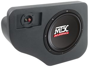 Picture of Fits Ford Explorer 1991-2001 Amplified 10 inch 200W RMS Vehicle Specific Custom Subwoofer Enclosure