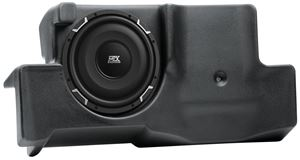 Picture of Fits Ford Explorer Sport Trac 2001-2010 Amplified 10 inch 200W RMS Vehicle Specific Custom Subwoofer Enclosure