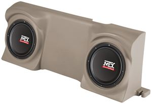 Picture of Ford F-150 Regular Cab Amplified Dual 12 inch 200W RMS Vehicle Specific Custom Subwoofer Enclosure