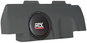 Picture of Ford F-150 Super Cab Amplified 10 inch 200W RMS Vehicle Specific Custom Subwoofer Enclosure