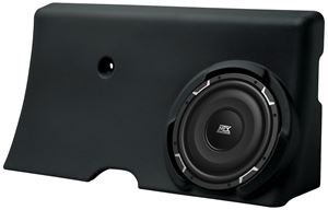 Picture of Ford F-250/F-350 Super Crew Loaded 10 inch 300W RMS 4 Ohm Vehicle Specific Custom Subwoofer Enclosure