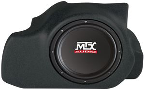 Picture of Ford Mustang Loaded 12 inch 200W RMS 4 Ohm Vehicle Specific Custom Subwoofer Enclosure