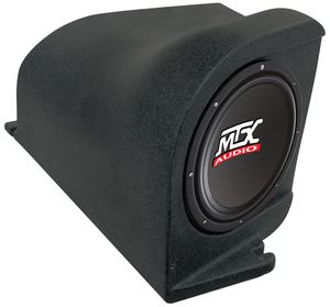 Picture of Ford Mustang Loaded 10 inch 200W RMS 4 Ohm Vehicle Specific Custom Subwoofer Enclosure