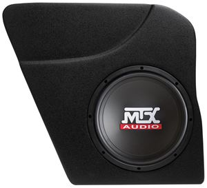 Picture of Honda Civic Amplified 10 inch 200W RMS Vehicle Specific Custom Subwoofer Enclosure