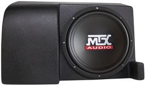 Picture of Fits 2006-2015 Amplified 10 inch 200W RMS Vehicle Specific Custom Subwoofer Enclosure