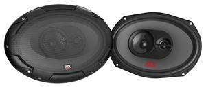 Picture of TNL693 6 inch x 9 inch 3-Way 100W RMS 4 Ohm Triaxial Speaker Pair