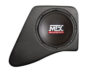 Picture of Jeep Wrangler JK 4-Door Amplified 10 inch 200W RMS Vehicle Specific Custom Subwoofer Enclosure