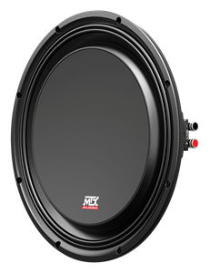 Picture of TNL12-44S Shallow 12 inch 300W RMS Dual 4 Ohm Subwoofer