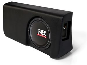 Picture of Ford F-150 Super Crew Cab Loaded 10 inch 200W RMS 4 Ohm Vehicle Specific Custom Subwoofer Enclosure