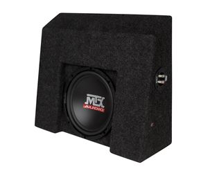 Picture of Chevrolet Silverado / GMC Sierra Crew Cab Loaded 10 inch 200W RMS 4 Ohm Vehicle Specific Custom Subwoofer Enclosure