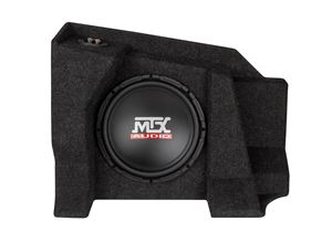 Picture of Chevrolet Silverado / GMC Sierra Extended Cab Loaded 10 inch 200W RMS 4 Ohm Subwoofer Enclosure