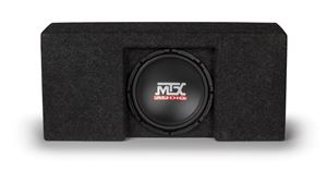 Picture of Ford F-150 Super Crew Cab Loaded 10 inch 250W RMS 4 Ohm Vehicle Specific Custom Subwoofer Enclosure