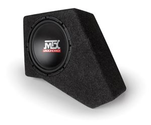 Picture of Jeep Wrangler JK 4-Door Amplified 10 inch 250W RMS Vehicle Specific Custom Subwoofer Enclosure