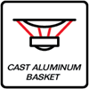 Cast Aluminum Basket