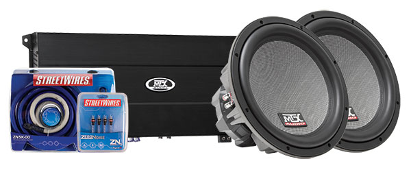 MTX Car Subwoofer System