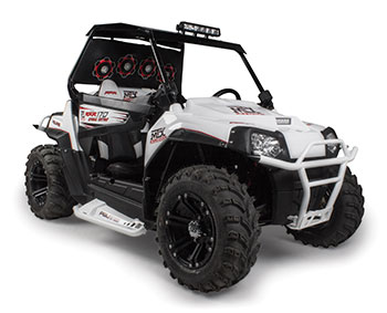 MTX Sound System Equipped ATV