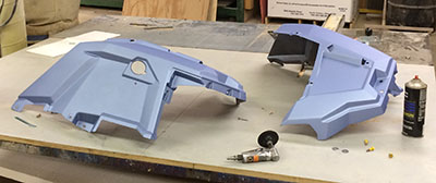 MTX Polaris Custom Build Part 2 - body panels