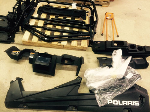 2016 Polaris RZR  XP Turbo MTX teardown 1