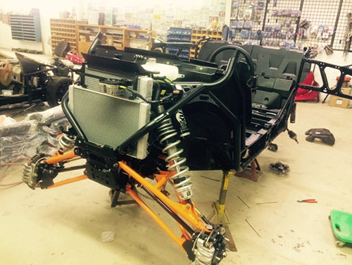 2016 Polaris RZR  XP Turbo MTX teardown 2